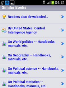 Download Free Ebooks Library - screenshot