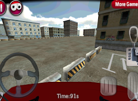 Screenshot of Fire Truck parking 3D