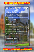 Screenshot of Disneyland MouseWait 7.2 FREE