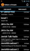 Screenshot of JStream - Jewish Music