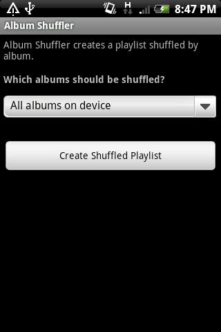 Album Shuffler