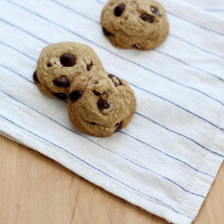 Gluten Free Chocolate Chip Cookie Recipe (oat flour)
