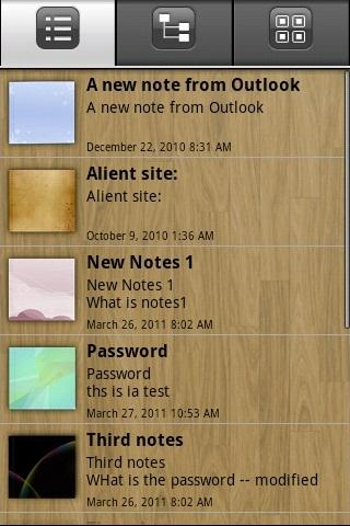 eMobile Note with Outlook Sync