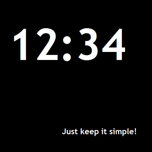 Minimalistic Clock Widget 工具 App LOGO-APP試玩