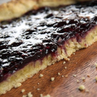 Plum Jam Crostata