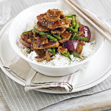 Pork, Green Bean & Oyster Stir-fry