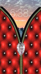 Diamond Zipper Screen Lock APK for Nokia