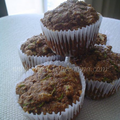 Whole Wheat Zucchini Muffins