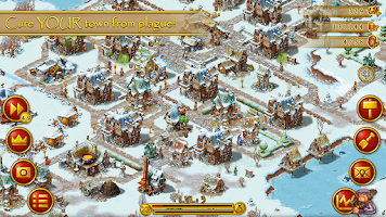 Screenshot of Townsmen