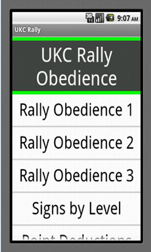 UKC Rally Obedience