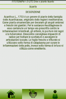 Screenshot of Curarsi con le erbe [LITE]