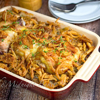 Chicken or Turkey & Stuffing Supreme Casserole