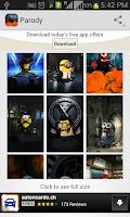 Screenshot of Parody Minions HD Wallpaper