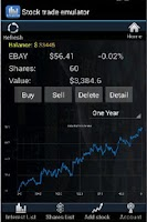 Screenshot of Stock Trade Emulator