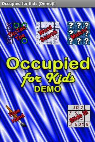 Occupied for Kids Demo