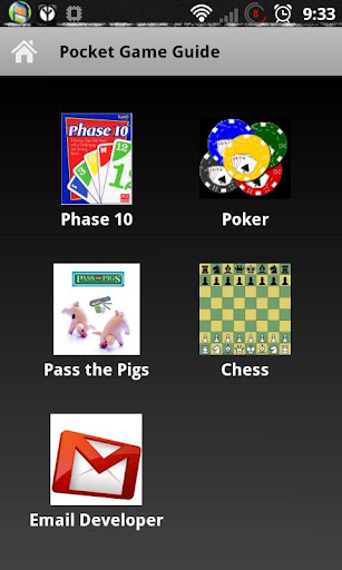 Pocket Game Guide