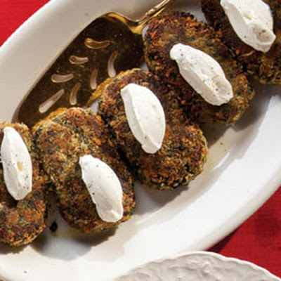Autumn Vegetable Patties