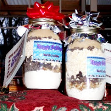 Candy Coated Chocolates Gift Jar Cookie Mix