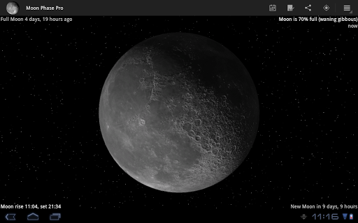 moon-phase-pro for android screenshot