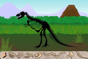 Screenshot of Dinosaur Excavation: T-Rex