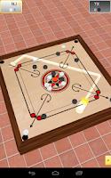 Screenshot of Carrom 3D