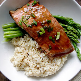 Simple Ginger Soy Poached Salmon