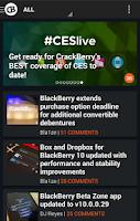 Screenshot of CrackBerry — The App!