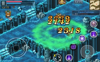 Screenshot of Aurum Blade EX