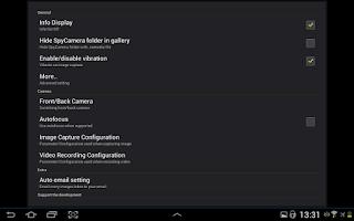 Screenshot of Spy Camera OS (Donate)