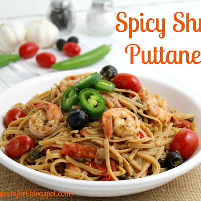 Spicy Shrimp Puttanesca
