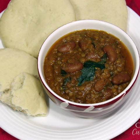 Dal Makhani (Creamy Kidney Bean and Lentil Stew)