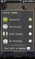 Screenshot of SecretSheep Lite - hide ID
