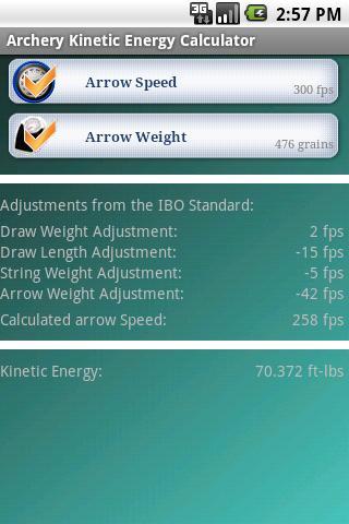 Archery Kinetic Energy - No Ad