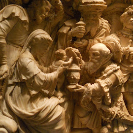 Religious Relief by Helen Roberts - Buildings & Architecture Statues & Monuments (  )