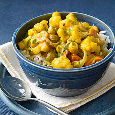 Indian Chickpea-and-Vegetable Stew