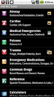 Screenshot of EMS BLS Guide