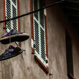 hanging shoes by Adrian Kurbegovic - Artistic Objects Clothing & Accessories