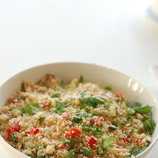 Couscous Salad With Dried Tomato Vinaigrette