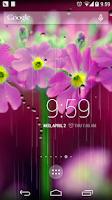 Screenshot of Drizzle aesthetic wallpaper
