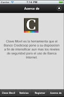 Screenshot of Clave Movil