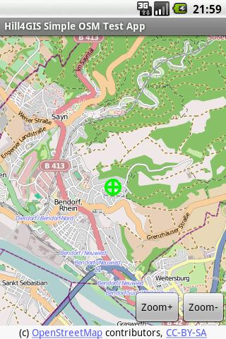 Hill4GIS OSM Viewer Demo
