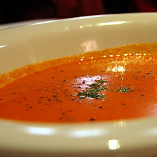 Suzi's Red Lentil, Tomato, and Orange Soup