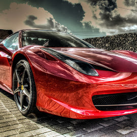 Lady in red by Landogardner  Goma - Transportation Automobiles (  )