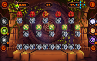 Screenshot of Flummox - Match 3 Jewel Quest