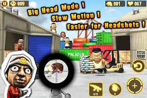 Screenshot of Gun Strike XperiaPlay