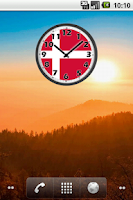 Screenshot of Denmark Clock