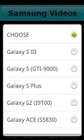 Screenshot of Video Tutorials Smartphone