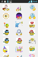 Screenshot of New Year Emoticons