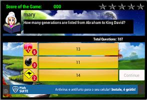 Screenshot of The Bible Game