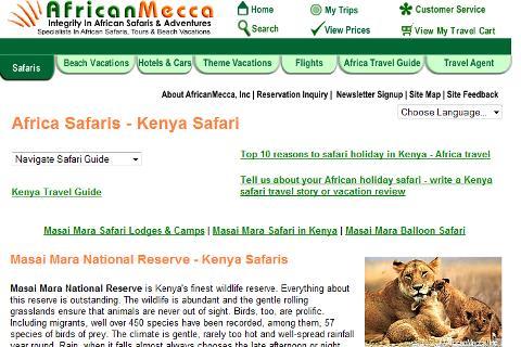 Masai Mara Safari Guide
